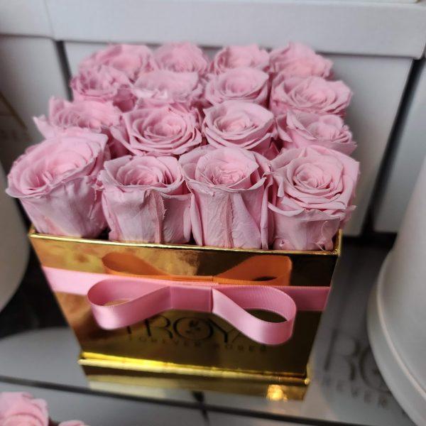 FOREVER ROSES, SQUARE BOX 12