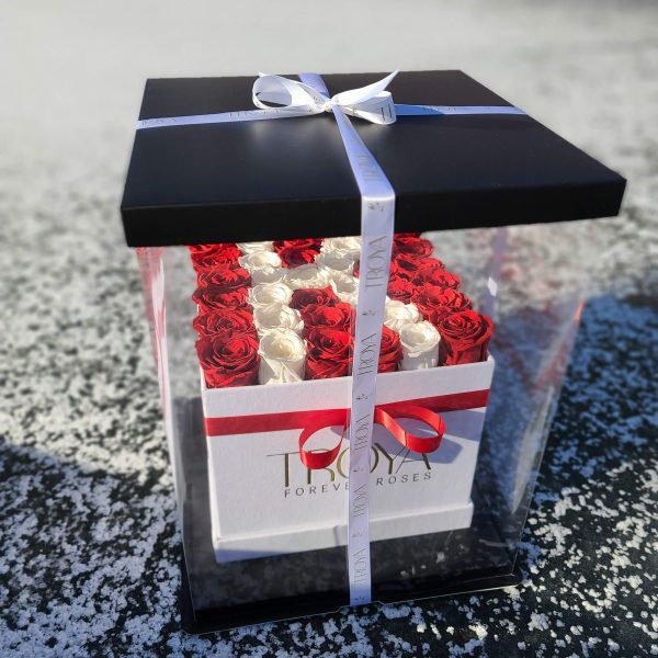 Forever Roses in a gift box