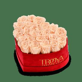 Heart box Forever Roses
