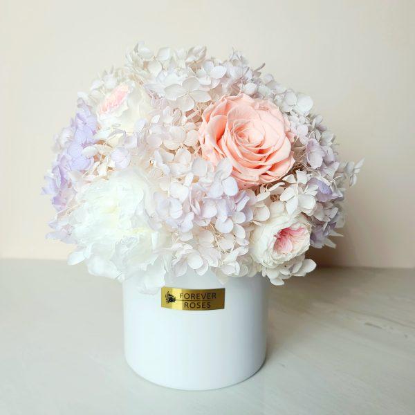 Forever Flowers in an elegant Box