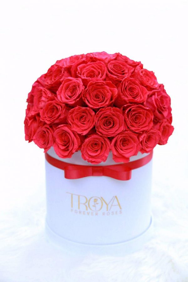 Red Forever Roses Bouquet